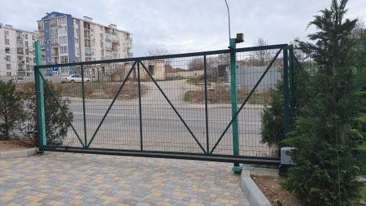ворота откатные 3d сетка Севастополь